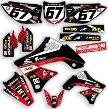 2009 2010 2011 KXF 450 GRAPHIC KIT KAWASAKI RIDGELINE: GREY / RED DECALS KIT