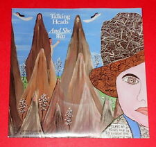 Talking Heads - And she was & Perfect world -- Single / Rock