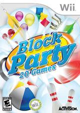 Block Party WII New Nintendo Wii