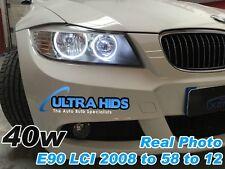 40 W Xenon Blanco LED Angel Eye marcadores BMW serie 3 luces halógenas E90 E91 LCI