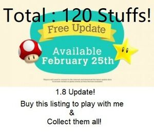 Mario 1.8 Update Animal Crossing New Horizons Play All New Items