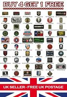 Rubber Airsoft Military Tactical PVC Patch Patches Badge Badges: Listing 1