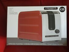 Next 2 Slot Red Toaster NEW