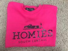 d0b6838dedf BLTEE Brian Lichtenberg Homies South Central Sweatshirt Hot pink black sz M   98