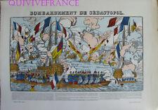EP61 - BOMBARDEMENT DE SEBASTOPOL - IMAGE D'EPINAL PELLERIN - NAPOLEON III