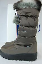 $185 Pajar Canada Tobogan Womens taupe tall zippered winter boots size 10/40 NWB