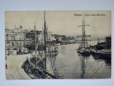 SAVONA Punta della Marinetta veliero vecchia cartolina 8471