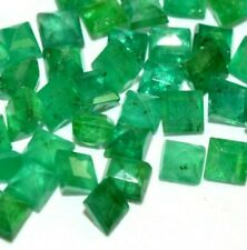 NATURAL EMERALD UNHEATED GEMSTONES 5pcs LOT. EXCELLENT Top GREEN GEMSTONE
