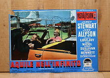 AQUILE NELL'INFINITO fotobusta poster James Stewart Strategic Air Command AB7