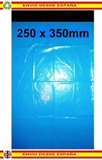 50 Bolsas 250x350mm (25x35cm) plástico envios mensajeria reciclable correo azul