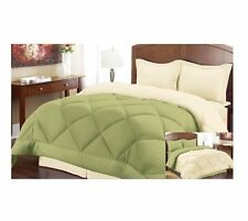 ELEGANT COMFORT®  Goose Down Alternative Reversible Comforter ALL SIZE AND COLOR