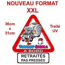 Sticker CAMPING CAR TAMALOU Autocollant Grand format