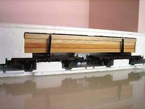 Märklin Gauge 1 54804 Long Wood Cart Car Original Box
