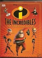 DISNEYS INCREDIBLES ESSENTIAL GUIDE ANNUAL  DISNEY BOOK