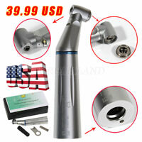 Dental Contra Angle E-generator Optic LED Low Speed Handpiece Inner Water Push B