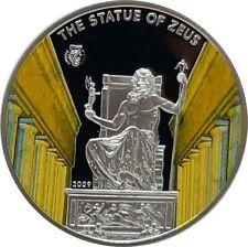 Palau 2009 5 Dollar Antike Weltwunder - Die Statue von Zeus - Silber PP