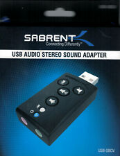 Sabrent USB 1.0/1.1 (USB-SBCV) Sound Card