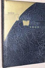 1950 Christian College Yearbook Annual Columbia Missouri MO - The College Widow