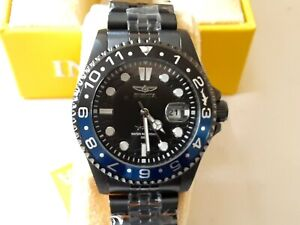 100% authentic Invicta Watch Pro Diver 30627 Stainless Steel Bracel all black