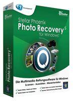 Stellar Photo Recovery 5 für Windows, Rettungssoftware, Rettet Multimedia-Datein
