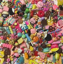 NEW PIECES 2017 Kawaii Assorted Sweet Mix Cabochons Embellishments Decoden 40pcs