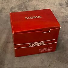 NEW OLD STOCK IN BOX SIGMA 35-70mm  F/2.8-4 52mm LENS FOR KONICA MINOLTA CAMERA