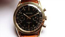 WALTHAM oversize vintage chronograph watch