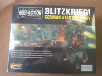 BOLT ACTION BLITZKRIEG GERMAN ARMY STARTER SET 1000 POINTS - NEW & SEALED