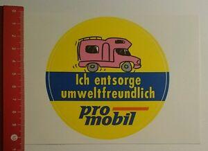 Aufkleber/Sticker: Ich entsorge umweltfreundlich pro mobil (22071627)