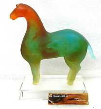 Daum Crystal Cheval Chinese Horse Limited Edition of 488. STUNNING!