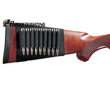 Hunting Buttstock 9 Round Rifle Butt Stock Shell Holder Pouch for .223 or 30-06