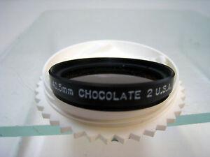 40.5mm Tiffen Chocolate 2 Glass Filter