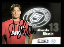 Alexander Blessin Autogrammkarte Sportfreunden Siegen 2007-08 Original Sig+A9626