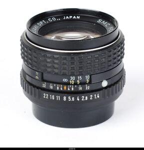 Lens  SMC Pentax 1.4/50mm  for Pentax K