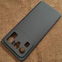 For Xiaomi Mi 11 Ultra, Shockproof Slim Classic Black Soft TPU Case Cover