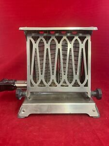 Vintage Westinghouse Electric Toaster Art Deco 3-37288-BTested Works w/cord