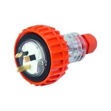 3 Pin Industrial Weatherproof Plug 10A 10 amp IP66 nhp