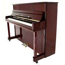 "Steinhoven SU112 Upright Piano, Polished Mahogany (112cm, 44"")"