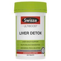NEW Swisse Ultiboost Liver Detox 200 Tablets