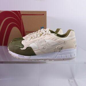 Size 8.5 Men's / Women's 10 Saucony Shadow 5000 Sneakers S70033-100 Cream/Green