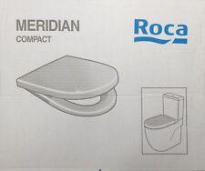 Roca meridian inodoro compacto y cubierta con bisagras de cierre suave 8012AC004