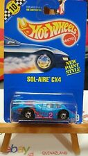 hot wheels Sol-Aire CX4 Collector 169 (9981)