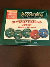 Glencoe Accounting- Electronic Learning Center Student Package First-Year Course