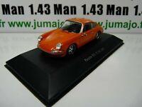 POR10W : voiture 1/43 atlas NOREV PORSCHE : PORSCHE 911 S 2.4 1972
