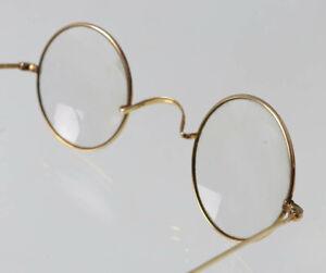 Antike Nickelbrille, Brille, Vintage