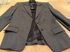Hugo Boss stunning three piece suit grey size 8