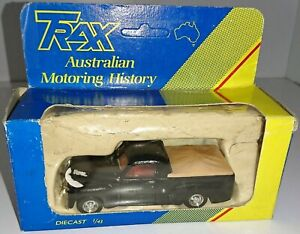 Holden 1953 FJ Utility 1:43 scale model by TRAX in Black TRS1 40th Anniversary