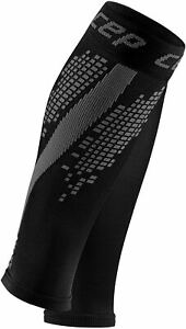 CEP Compression Calf Sleeves Reflective Nighttech Womens - Black