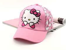 Cute Pink Hello Kitty Hat Cap Women Baseball Golf Ball Sport Hats Adjustable