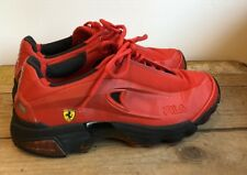Vintage Fila Ferrari 2003 Double Name Collaboration Shoes Size 7 Red F2003